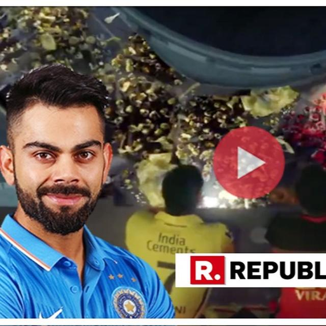 DHONI VS KOHLI: VIRAT KOHLI AND MS DHONI'S BANTER IN NEW IPL VIDEO LED TO A HILARIOUS 'TWITTER WAR'