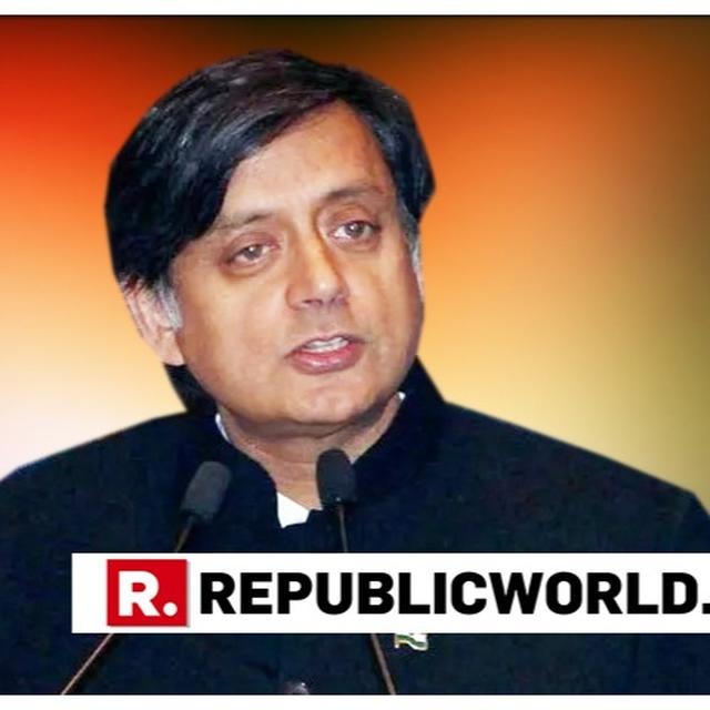 SHASHI THAROOR'S RELATIVES JOIN BJP, SAY 'THEY ARE LONG TIME SUPPORTERS OF SAFFRON PARTY'