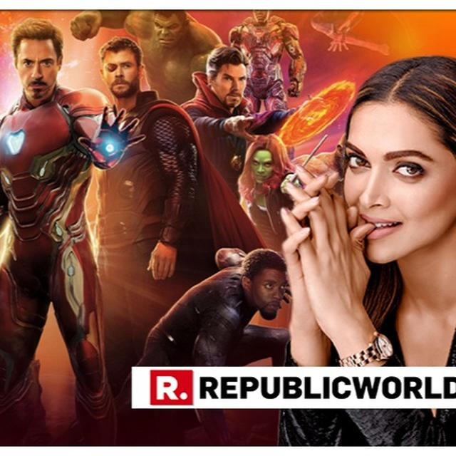 'WORLD IS READY FOR AN INDIAN SUPERHERO': DEEPIKA PADUKONE SHOWS INTEREST IN JOINING MARVEL'S 'AVENGERS' FRANCHISE