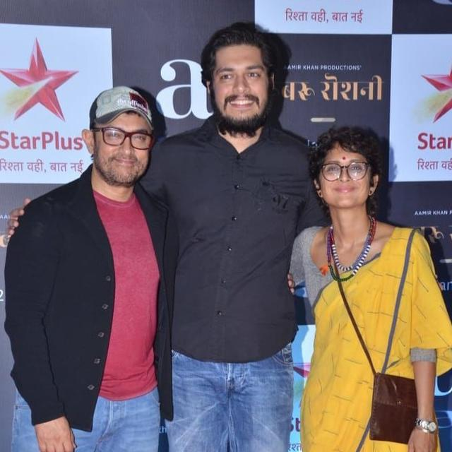 'HE CERTAINLY HAS AN INCLINATION TOWARDS THE CREATIVE WORLD AND FILMMAKING', SAYS AAMIRKHAN ON SON JUNAID'S BOLLYWOOD DEBUT