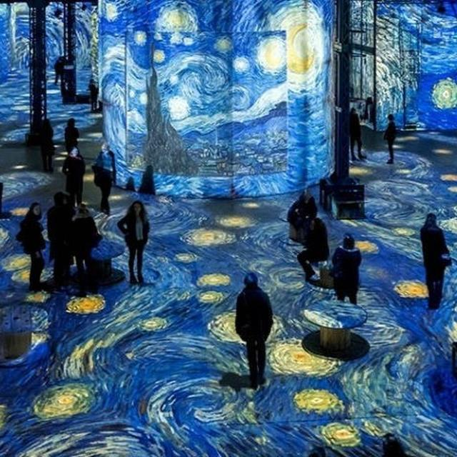 WATCH | VINCENT VAN GOGH'S PAINTINGS COME ALIVE IN PARIS' L'ATELIER DES LUMIÈRES