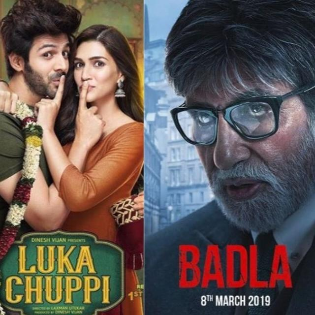 BOX OFFICE BONANZA: 'BADLA' AND 'TOTAL DHAMAAL' REACH IMPRESSIVE MILESTONES, 'LUKA CHUPPI' STILL GOING STRONG