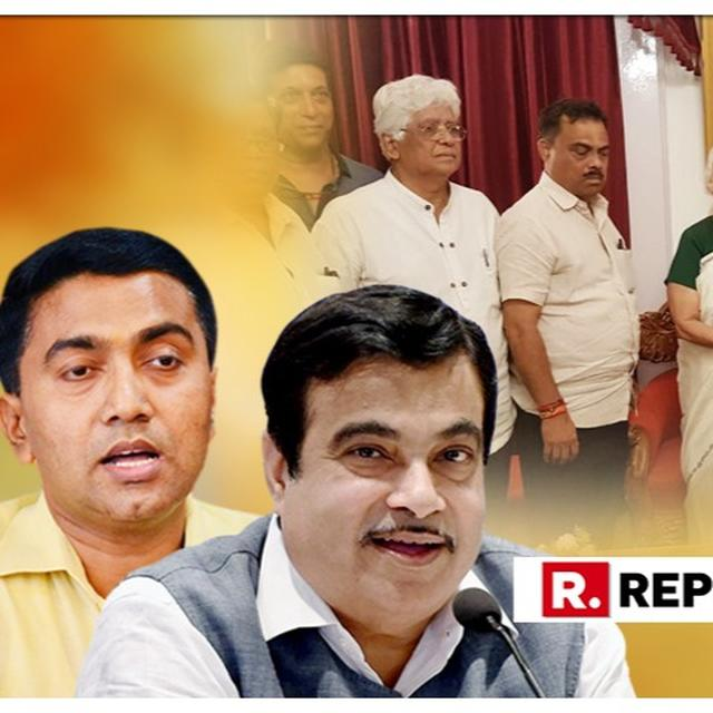 AS BJP PUSHES FOR PRAMOD SAWANT AS GOA CM, ALLIES CONTEND FOR DEPUTY CM POST AND CONGRESS STAKES ITS OWN CLAIM