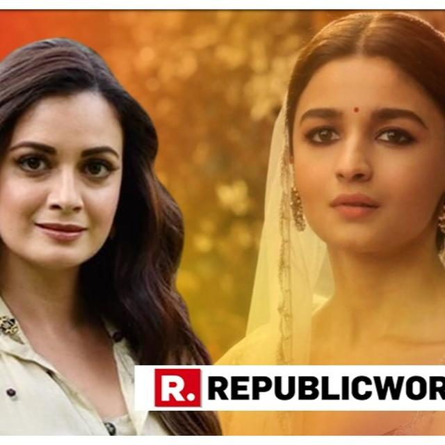 'IS THERE ANYTHING YOU CAN'T DO!?': DIA MIRZA PRAISES ALIA BHATT FOR HER PERFORMANCE IN 'KALANK' NEW SONG 'GHAR MORE PARDESIYA'