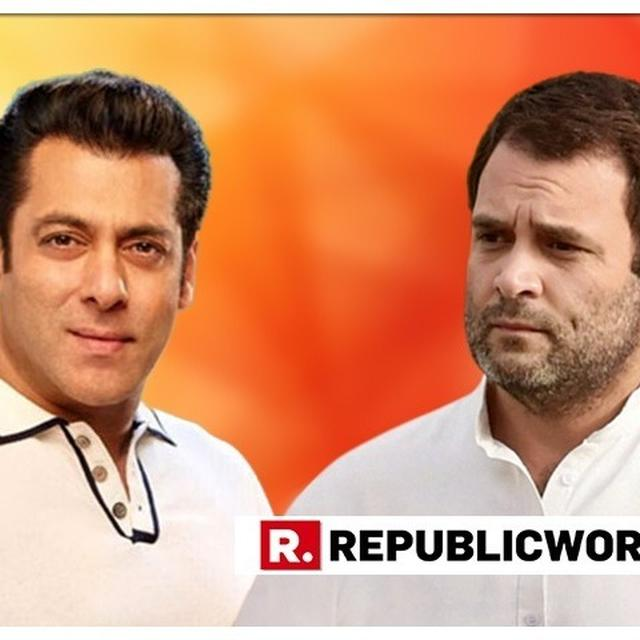 """CONGRESS SEEKS SALMAN KHAN'S HELP TO CAPTURE BJP'S INDORE CITADEL, SAYS """"WE'RE SURE HE'LL CAMPAIGN FOR US"""""""