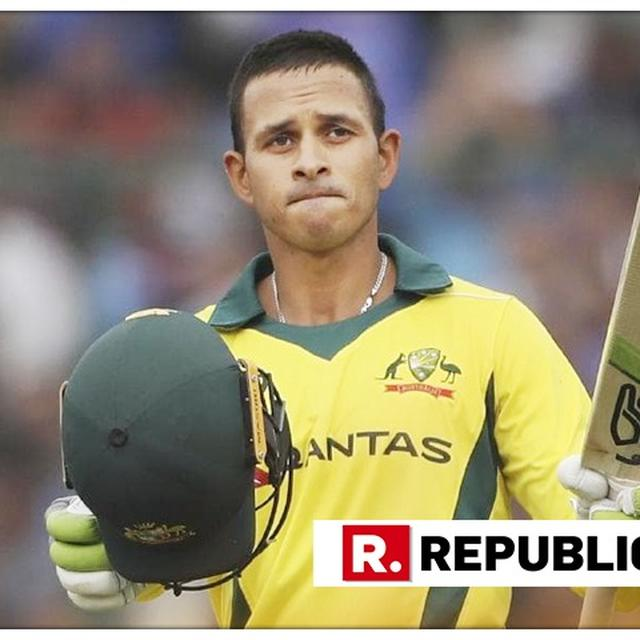 PONTING SAYS HE'D BE SURPRISED IF KHAWAJA DOESN'T GO TO WORLD CUP 2019