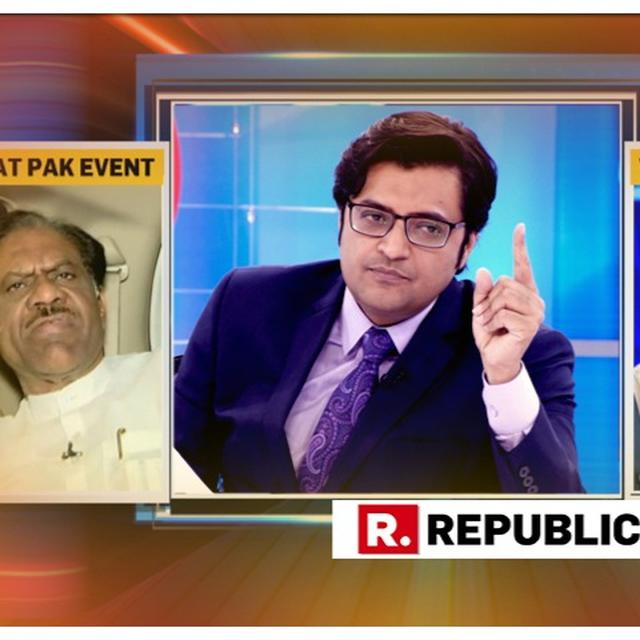 VIRAL: ARNAB CONFRONTS PAK DAY CELEBRATION ATTENDEES DR TASLEEM REHMANI AND BHAI BALDEEP