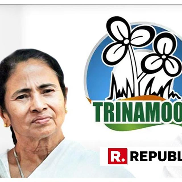 MAMATA BANERJEE'S TMC DROPS 'CONGRESS' FROM LOGO, WILL BE CALLED JUST 'TRINAMOOL' NOW