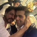 'THE LIKE THAT IS LOVE!!!!!': KARAN JOHAR'S PICTURE WITH SHAH RUKH KHAN PUTS ALL RUMOURS TO REST