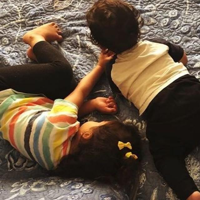 SHAHID KAPOOR AND MIRA RAJPUT'S KIDS, MISHA AND ZAIN LEARN 'SHARING IS CARING' IN THE MOST ADORABLE WAY