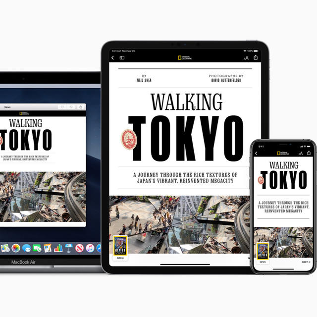 APPLE ROLLS OUT APPLE NEWS+ SUBSCRIPTION SERVICE WITH OVER 300 MAGAZINES AND MORE