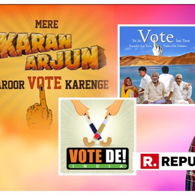 IN PICTURES   GOVERNMENT OF INDIA'S FILMY TAKE ON THE #VOTEKAR CAMPAIGN IS A TREAT FOR SHAH RUKH FANS