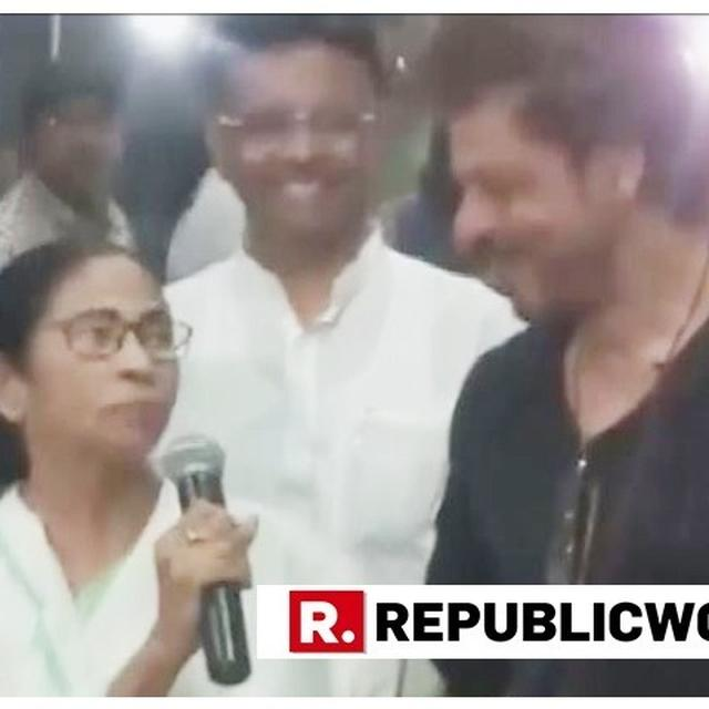 WATCH | 'BROTHER AND SISTER ALWAYS WINNERS', SAYS WEST BENGAL CM MAMATA BANERJEE AS SHAH RUKH KHAN VISITS HER IN KOLKATA