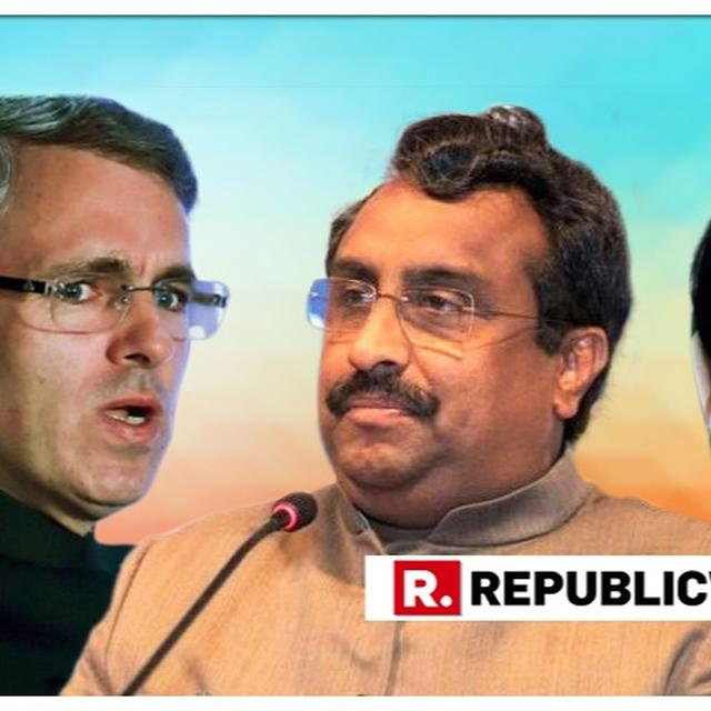 ASKED EC TO HOLD J&K ASSEMBLY POLLS AS EARLY AS POSSIBLE: RAM MADHAV, BJP