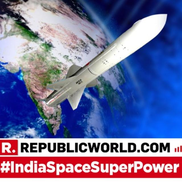 HERE'S THE ELITE SPACE SUPERPOWER LEAGUE INDIA HAS JOINED WITH THE SUCCESSFUL 'MISSION SHAKTI' A-SAT TEST
