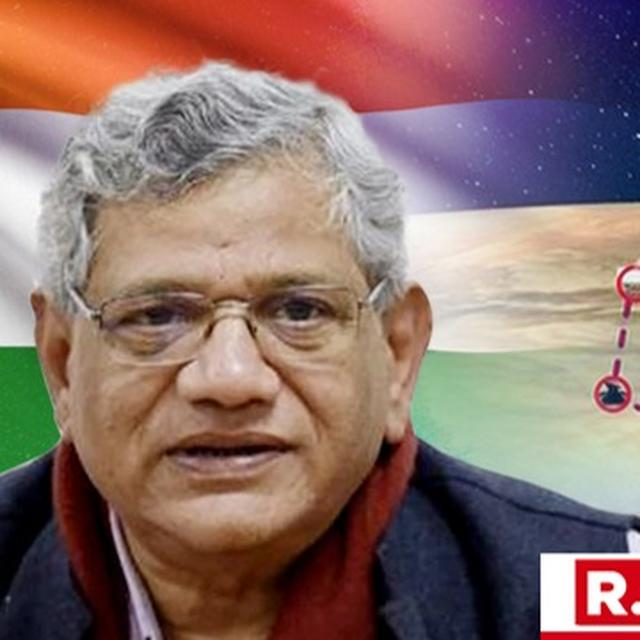 SITARAM YECHURY FILES COMPLAINT WITH EC AFTER INDIA'S 'MISSION SHAKTI' SUCCESS. HERE'S THE CPI(M) LEADER'S LETTER