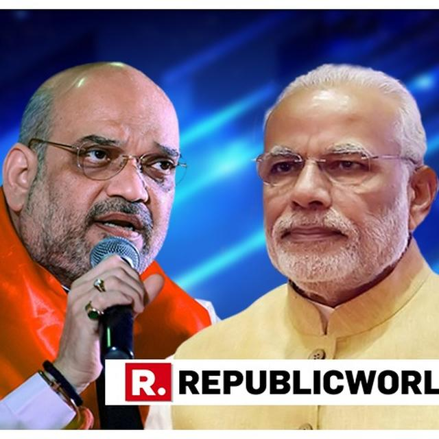 ONLY MODI CAN PROTECT THE COUNTRY'S BORDERS : AMIT SHAH