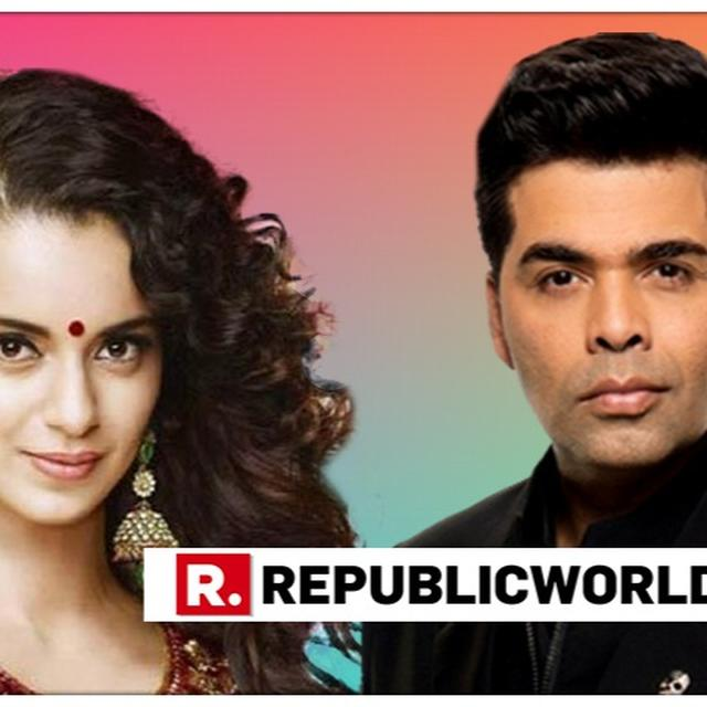 KANGANA RANAUT SUSPECTS KARAN JOHAR AND TEAM WERE BEHIND HER LEAKED MECHANICAL HORSE VIDEO FROM 'MANIKARNIKA'. DETAILS HERE