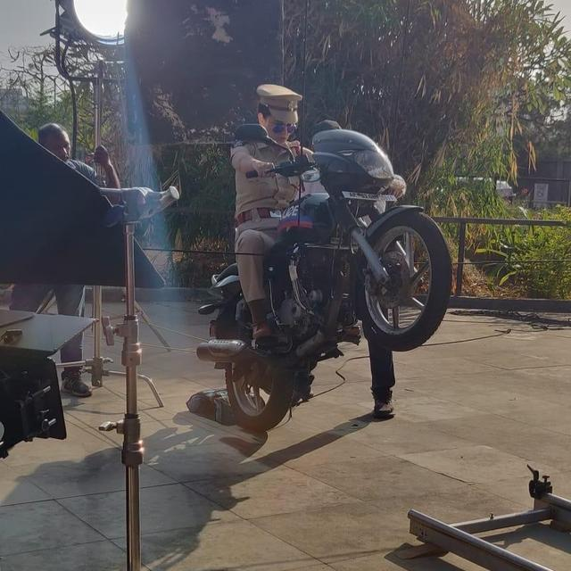 IN PICS | ROHIT SHETTY'S 'SIMMBA', 'SOORYAVANSHI' NOW HAVE COMPETITION IN KANGANA RANAUT AS SHE TURNS COP FOR 'MENTAL HAI KYA'