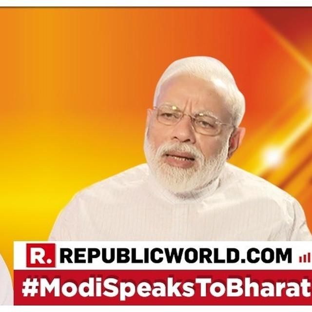 "PM MODI INTERVIEW: ""FOCUS SHOULD BE ON THE PEOPLE AND NOT PERSONALITIES FOR A HEALTHY DEMOCRACY""  SAYS PM MODI AHEAD OF THE 2019 LOK SABHA ELECTIONS"
