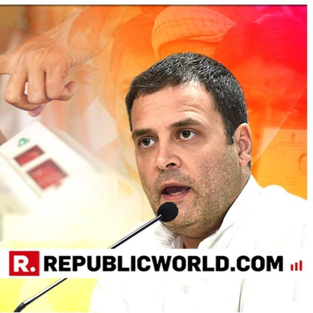 'UP TO HER TO DECIDE WHETHER SHE WANTS TO CONTEST OR NOT', RAHUL GANDHI CONTRADICTS PRIYANKA VADRA'S STATEMENT ON CONTESTING LOK SABHA ELECTION