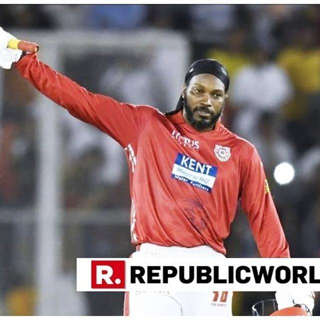 GAYLE THE ONE TO WATCH AS MI TAKE ON KXIP?