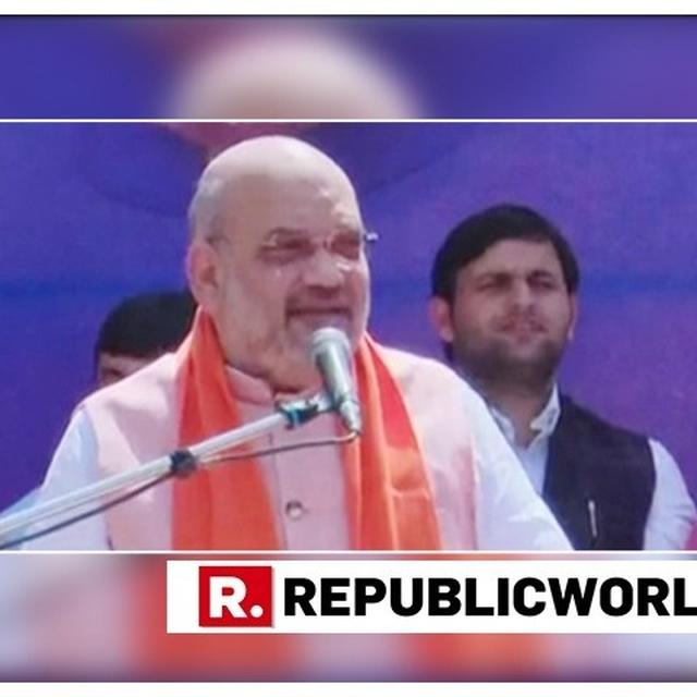 "WATCH: ""BLESSED TO CONTEST FROM SEAT REPRESENTED BY THE LIKES OF ADVANI JI, WILL STRIVE TO TAKE FORWARD HIS LEGACY,"" SAYS BJP CHIEF AMIT SHAH"