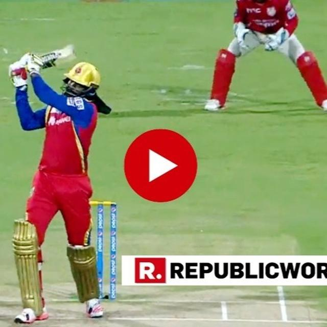 WATCH: CHRIS GAYLE BECOMES THE FIRST BATSMAN IN IPL HISTORY TO HIT 300 SIXES