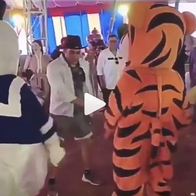 VIRAL | NETIZENS CAN'T GET OVER HOW 'CUTE' SALMAN KHAN LOOKS WHILE DANCING WITH DISNEY CHARACTERS AT NEPHEWAHIL SHARMA'S BIRTHDAY BASH
