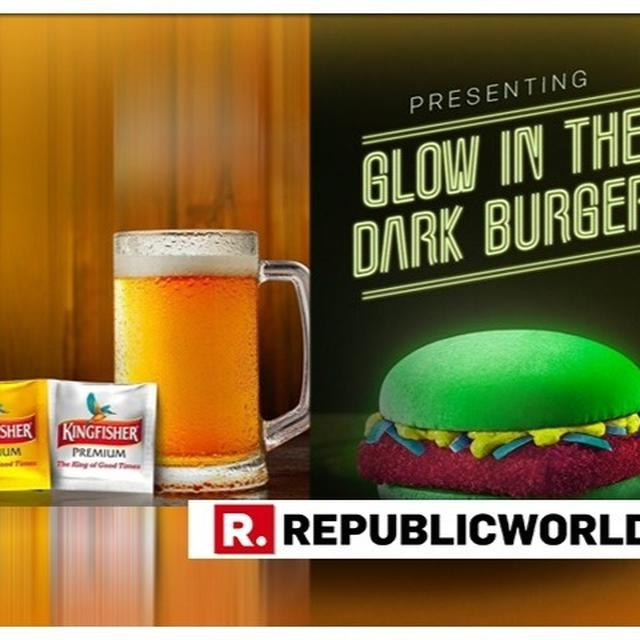 GLOW IN THE DARK BURGER AND INSTANT BEER POWDER MAKES TWITTER GO CRAZY