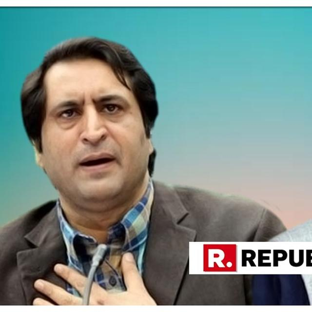WATCH: PC CHIEF SAJJAD LONE SLAMS OMAR ABDULLAH OVER 'SEPARATE PM IN J&K' COMMENT, SAYS 'HE IS LYING THROUGH HIS TEETH