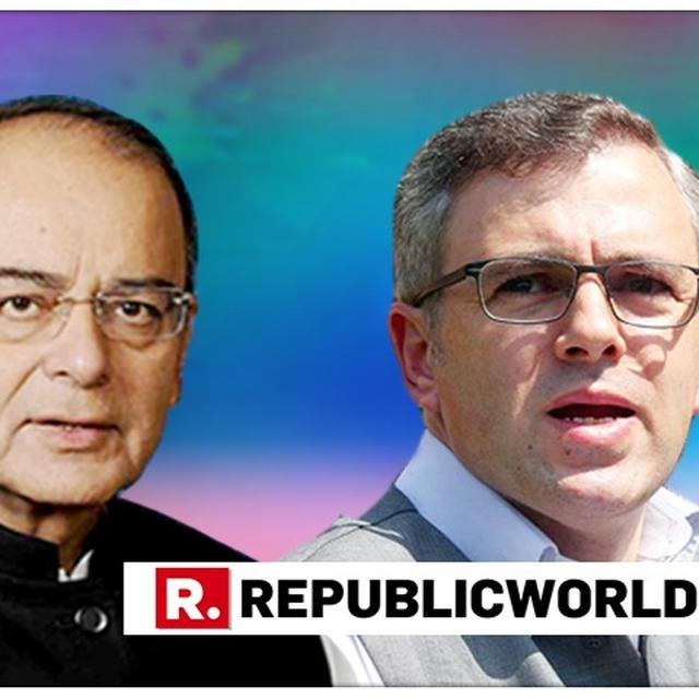 OMAR'S 'PM FOR KASHMIR' DEMAND ONLY INTENDED TO CREATE 'SEPARATIST PSYCHE': JAITLEY