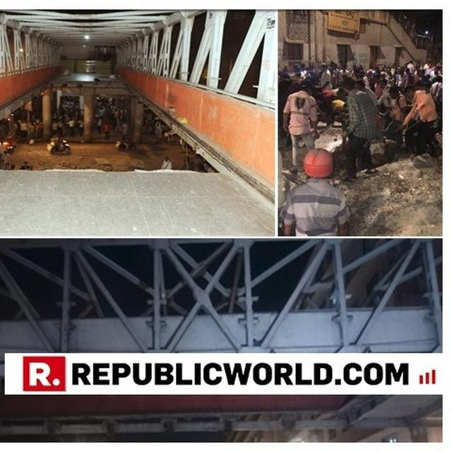 MUMBAI POLICE ARRESTS BMC OFFICER WHO SUPERVISED AUDIT OF COLLAPSED FOOTOVER BRIDGE NEAR CSMT STATION