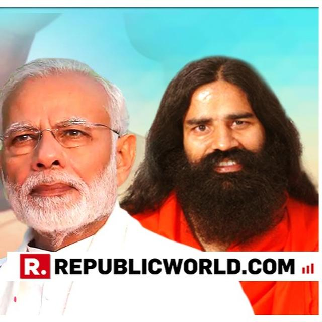 BABA RAMDEV SAYS MOOD OF THE NATION TILTED TOWARDS SECOND TERM FOR PM MODI