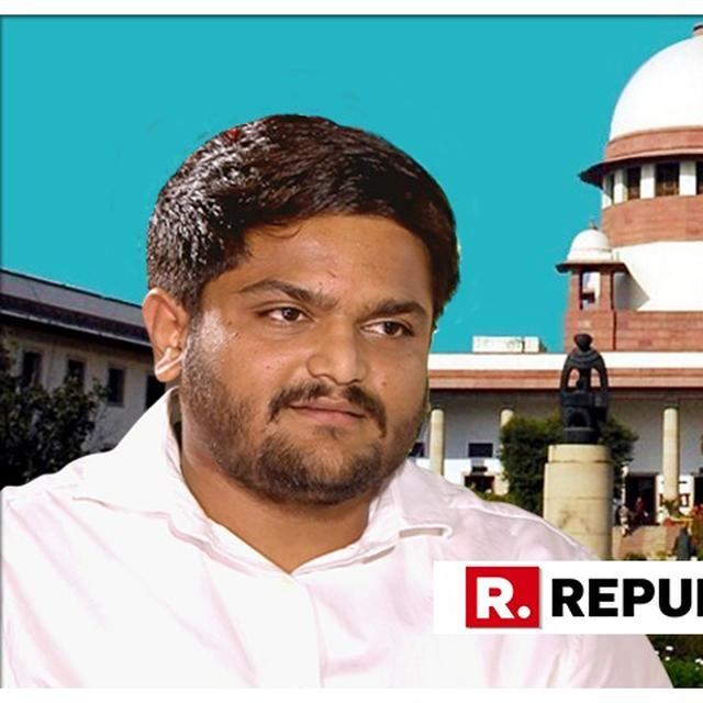 SC DECLINES URGENT HEARING ON HARDIK PATEL'S PLEA