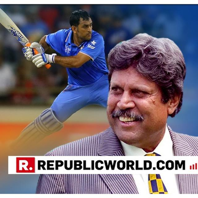 PANT CAN'T BE COMPARED WITH DHONI: KAPIL DEV