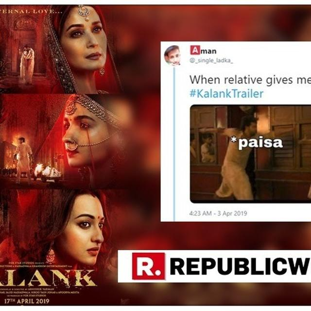 KALANK'S TRAILER HAS STARTED A MEME RIOT ON TWITTER THAT WILL SURELY TICKLE YOUR FUNNYBONE