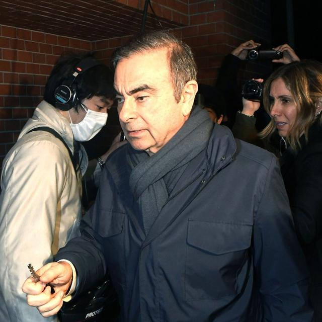 EX-NISSAN CHIEF GHOSN REARRESTED IN TOKYO