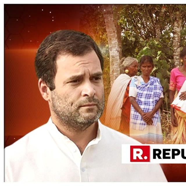 ELEPHANT IN THE ROOM: WAYANAD TRIBALS SAY CHASING AWAY JUMBOS MORE IMPORTANT THAN WELCOMING RAHUL GANDHI