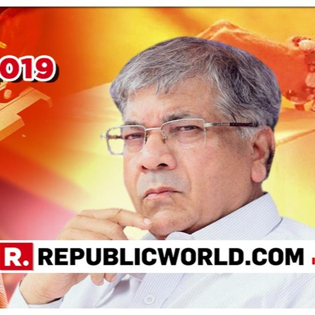'WILL SEND ELECTION COMMISSIONER TO JAIL IF WE COME TO POWER,' SAYS PRAKASH AMBEDKAR ALLEGING EC BIAS TOWARDS BJP