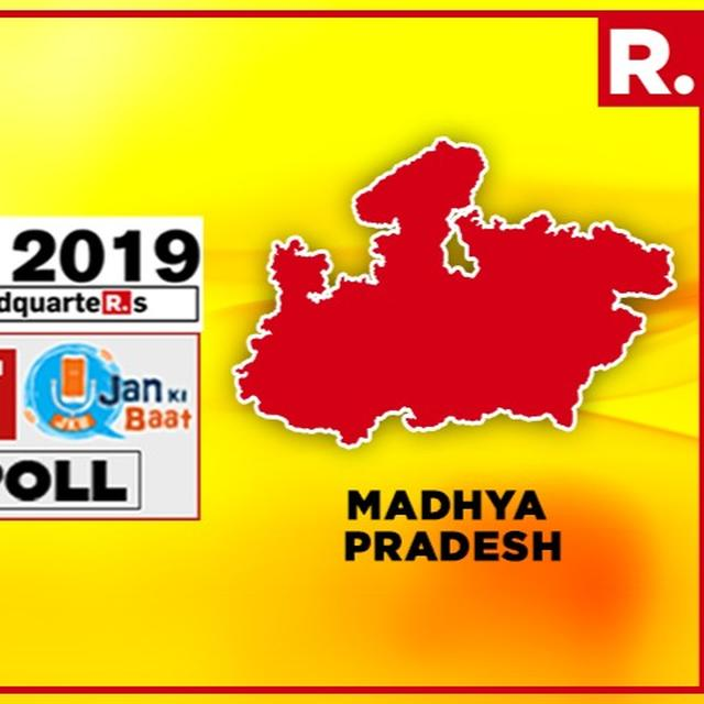 R. BHARAT-JAN KI BAAT OPINION POLL: BJP PROJECTED TO GAIN IN M.P