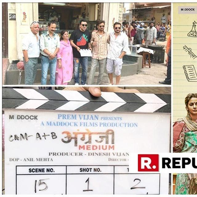 IN PICTURES | IRRFAN KHAN BEGINS SHOOTING FOR 'ANGREZI MEDIUM' IN UDAIPUR