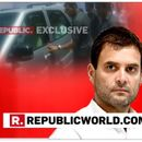 WATCH: RAHUL GANDHI'S TEAM BLOCKS REPUBLIC TV FROM QUESTIONING HIM ON CHRISTIAN MICHEL'S EXPLOSIVE REVELATIONS IN ED'S AGUSTA WESTLAND CASE CHARGESHEET
