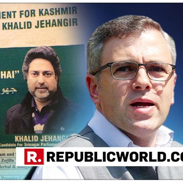 "OMAR ABDULLAH SLAMS BJP CANDIDATE FOR SWAPPING SAFFRON FOR GREEN IN HIS CAMPAIGN PROMOTION, ASKS WHY THE PARTY ""CAN'T SHOW THEIR TRUE COLOURS"""