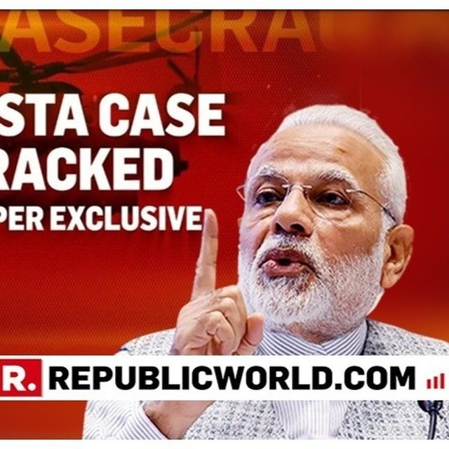 WATCH: PM MODI NAMES CONGRESS' AHMED PATEL IN REFERENCE TO ED'S EXPLOSIVE AGUSTA CHARGESHEET ON 'MICHEL MAMA', ASKS 'WHOSE FAMILY IS HE LINKED TO?'