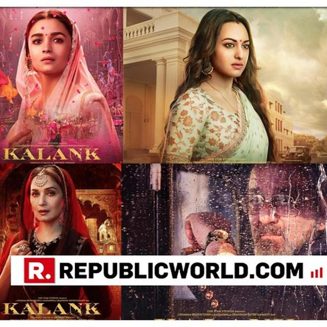 HERE'S WHAT VARUN DHAWAN SAID ABOUT 'KALANK' BEING DUPLICATED FROM THE BEST-SELLING NOVEL,'WHAT THE BODY REMEMBERS'