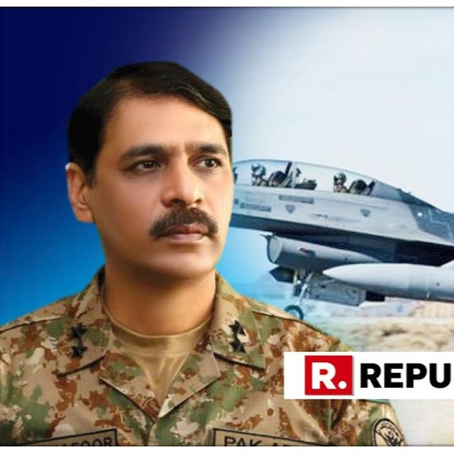 """PAK MILITARY CALLS FOR """"TRUTH"""" FROM INDIA ON DOWNING OF PAF F-16"""