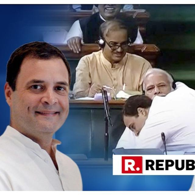 """""""I LOVE PM MODI,"""" REITERATES RAHUL GANDHI, SAYS PM IS ANGRY WITH HIM"""