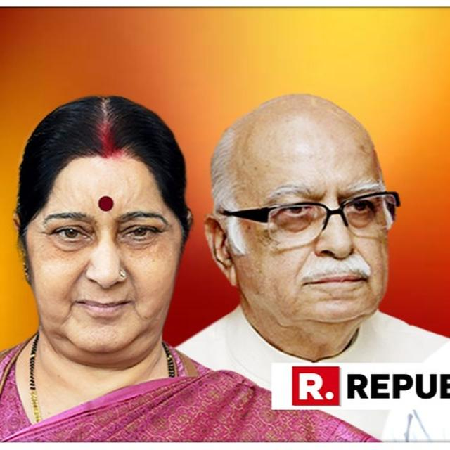 'RAHUL'S WORDS HAVE HURT US DEEPLY,' SAYS SUSHMA SWARAJ OVER RAHUL GANDHI'S 'HIT WITH A SHOE' COMMENT OVER 'FATHER FIGURE' LK ADVANI