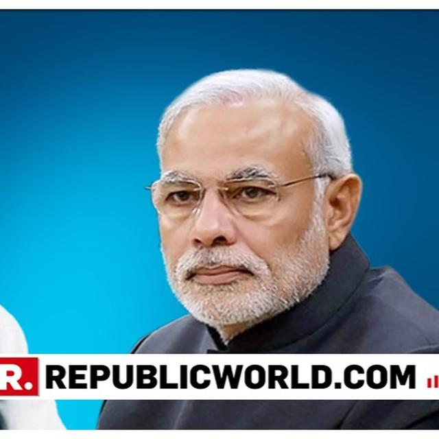 'CHOWKIDAR' FIGHTING TERRORISTS; CONG WANTS TO DILUTE POWERS OF ARMED FORCES: PM MODI